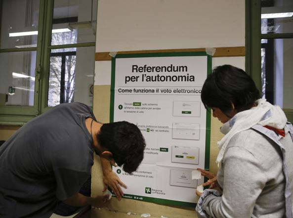 Referendum: affluenza record in provincia, città al 31% ...