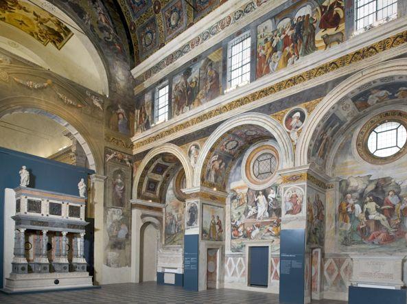 Museo Santa Giulia Brescia.Musei Alla Scoperta Delle Opere Segrete Corriere It