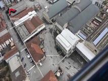 Il sito Caffaro visto dall'elicottero