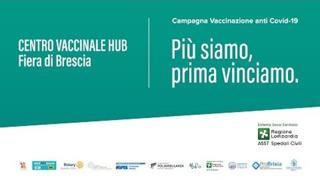 Chiude l'hub Vaccinale Fiera di Brescia: sei mesi al servizio dei cittadini
